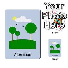 Chore Cards By Brenda   Multi Purpose Cards (rectangle)   Jjujowddjprl   Www Artscow Com Back 49