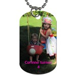 cd - Dog Tag (One Side)
