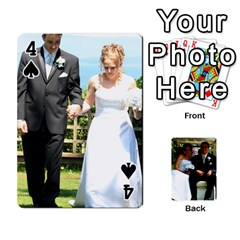 Wedding Cards  By Lisa   Playing Cards 54 Designs   Udgcsdqfvqwh   Www Artscow Com Front - Spade4