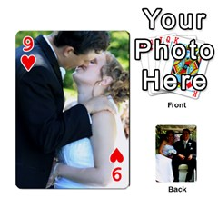 Wedding Cards  By Lisa   Playing Cards 54 Designs   Udgcsdqfvqwh   Www Artscow Com Front - Heart9