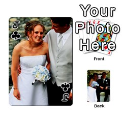 Jack Wedding Cards  By Lisa   Playing Cards 54 Designs   Udgcsdqfvqwh   Www Artscow Com Front - ClubJ