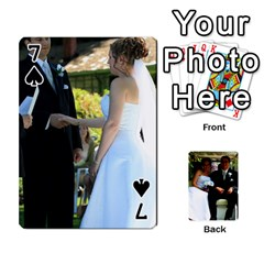 Wedding Cards  By Lisa   Playing Cards 54 Designs   Udgcsdqfvqwh   Www Artscow Com Front - Spade7