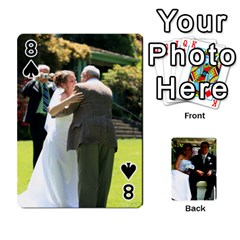 Wedding Cards  By Lisa   Playing Cards 54 Designs   Udgcsdqfvqwh   Www Artscow Com Front - Spade8