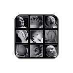 Hayden Baby coasters - Rubber Coaster (Square)
