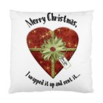 christmas pillow - Standard Cushion Case (Two Sides)