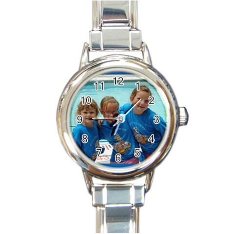 By Linda   Round Italian Charm Watch   Bd99pdg43xnk   Www Artscow Com Front