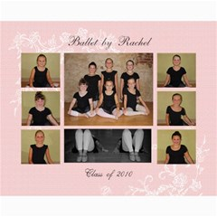 Ballet By Rachel 2010 By Shelley Chambers   Collage 8  X 10    Bvg572joznx8   Www Artscow Com 10 x8 Print - 1