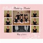 Ballet by Rachel 2010 - Collage 8  x 10