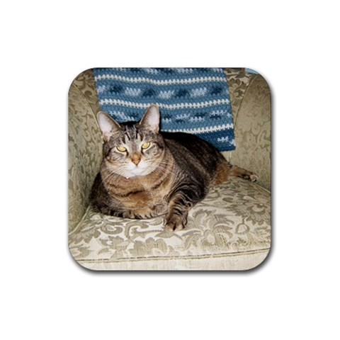 Snickers Coaster By Rachel Hull   Rubber Coaster (square)   K0d72dw8076t   Www Artscow Com Front