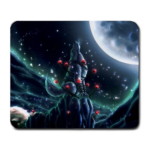 Beauty In Every Beast By Victoria Cernik   Large Mousepad   C66x5ek452wu   Www Artscow Com Front