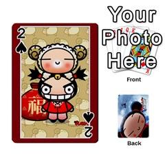 Puccacardnew By Nikole   Playing Cards 54 Designs   O8eedcu4he93   Www Artscow Com Front - Spade2