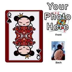 Queen Puccacardnew By Nikole   Playing Cards 54 Designs   O8eedcu4he93   Www Artscow Com Front - SpadeQ