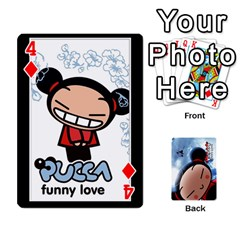 Puccacardnew By Nikole   Playing Cards 54 Designs   O8eedcu4he93   Www Artscow Com Front - Diamond4