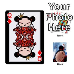 Queen Puccacardnew By Nikole   Playing Cards 54 Designs   O8eedcu4he93   Www Artscow Com Front - DiamondQ