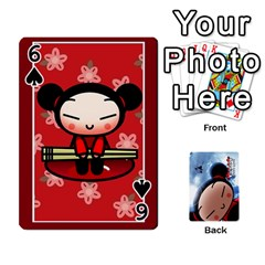 Puccacardnew By Nikole   Playing Cards 54 Designs   O8eedcu4he93   Www Artscow Com Front - Spade6