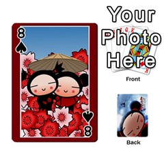 Puccacardnew By Nikole   Playing Cards 54 Designs   O8eedcu4he93   Www Artscow Com Front - Spade8