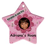 adriana star - Ornament (Star)