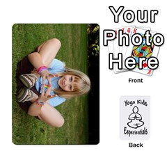 Ace Yoga Cards By Deanna   Playing Cards 54 Designs   Uu8o7m3v2i2m   Www Artscow Com Front - ClubA