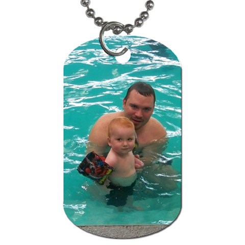 Dog Tags By Ashley Davis   Dog Tag (one Side)   Ot3w5ya97cmh   Www Artscow Com Front