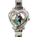 My Family Watch - Heart Italian Charm Watch