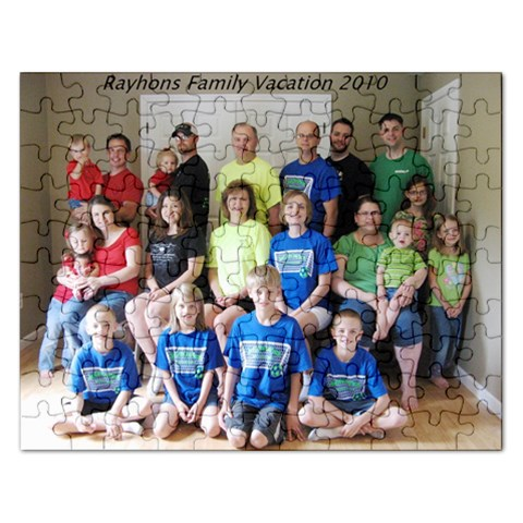 Family Puzzle By Kathy Rayhons   Jigsaw Puzzle (rectangular)   8yk43vv9tofq   Www Artscow Com Front
