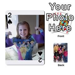 Ober Cards By Marjann   Playing Cards 54 Designs   U1j2i0jh2u7w   Www Artscow Com Front - Spade2