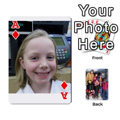 Ace Ober Cards By Marjann   Playing Cards 54 Designs   U1j2i0jh2u7w   Www Artscow Com Front - DiamondA