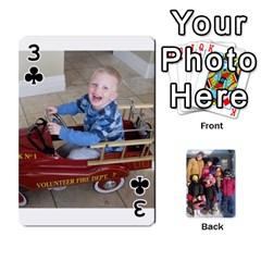 Ober Cards By Marjann   Playing Cards 54 Designs   U1j2i0jh2u7w   Www Artscow Com Front - Club3