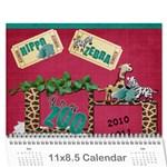 Adriana s Calendar - Wall Calendar 11  x 8.5  (18 Months)