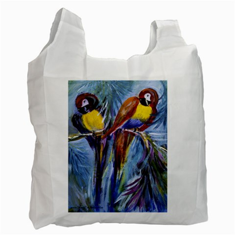 Lets Talk By Alana   Recycle Bag (one Side)   2sc3qqktu7k8   Www Artscow Com Front
