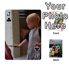Jack Etter Deck Of Cards By Nicki Etter   Playing Cards 54 Designs   Mc4dj6no8y9j   Www Artscow Com Front - ClubJ