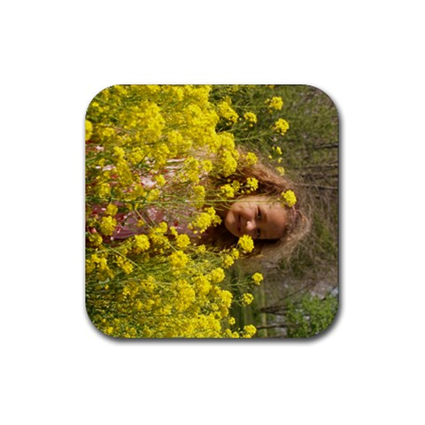 By Kim   Rubber Coaster (square)   Yx5zpk20n95x   Www Artscow Com Front