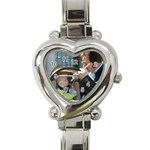 bradey - Heart Italian Charm Watch