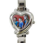 Moms watch - Heart Italian Charm Watch