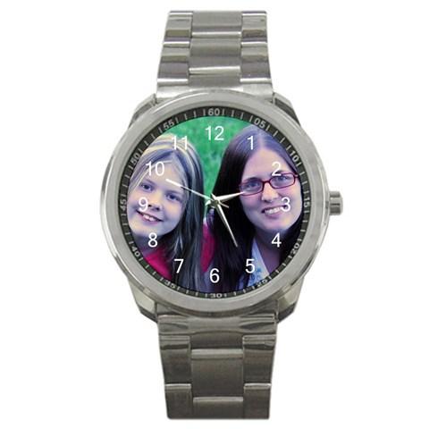 Summer & Mom Watch By Corinna Lyons Revello   Sport Metal Watch   Ki7bdzu7l3sw   Www Artscow Com Front
