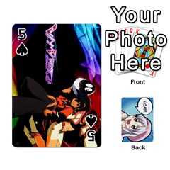 Anime By Brian Samuelson   Playing Cards 54 Designs   Iomrcub27629   Www Artscow Com Front - Spade5