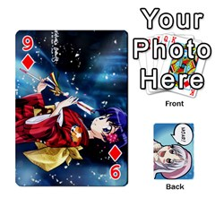 Anime By Brian Samuelson   Playing Cards 54 Designs   Iomrcub27629   Www Artscow Com Front - Diamond9