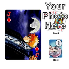 Jack Anime By Brian Samuelson   Playing Cards 54 Designs   Iomrcub27629   Www Artscow Com Front - DiamondJ