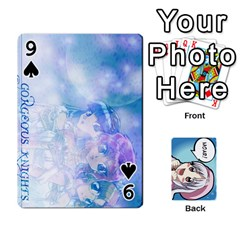 Anime By Brian Samuelson   Playing Cards 54 Designs   Iomrcub27629   Www Artscow Com Front - Spade9