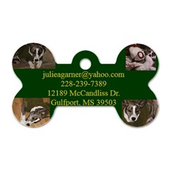 Dog Tag Family By Julie Mcdowell Garner   Dog Tag Bone (two Sides)   Fjv50lz1x2ba   Www Artscow Com Back