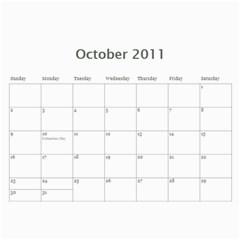 Cgl 2010 By Missie Pludo   Wall Calendar 11  X 8 5  (12 Months)   0mhdpjxu0mn4   Www Artscow Com Oct 2011