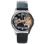 Round Metal Watch