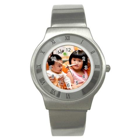 Watch By Suweeriya   Stainless Steel Watch   N3pzsq0g8e3t   Www Artscow Com Front