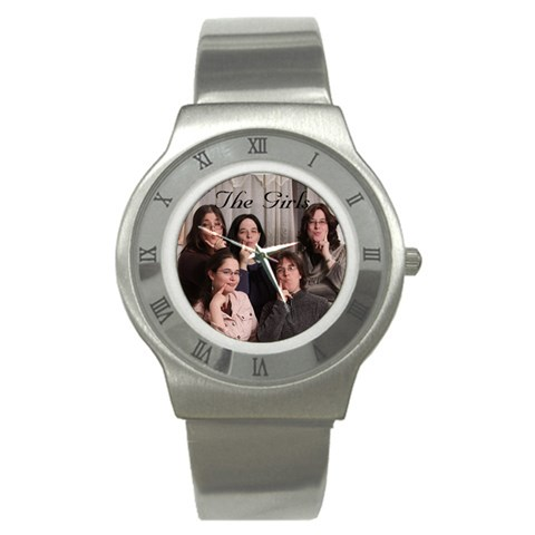 The Girls By Bryna   Stainless Steel Watch   Cp3kwmczw4so   Www Artscow Com Front