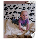Jolea May at 4 Months - Canvas 8  x 10
