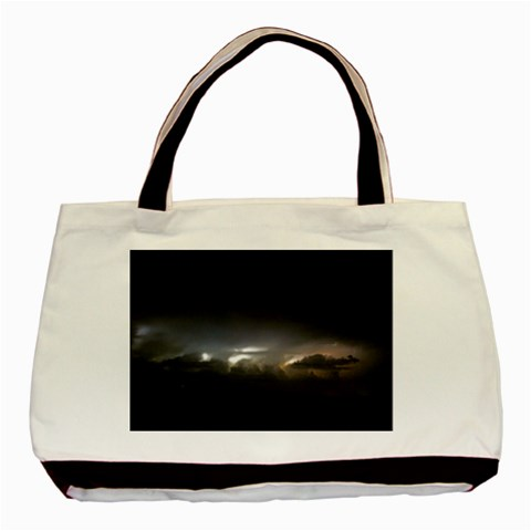 Thunderstorm Tote By Megan   Basic Tote Bag   G9rb1okcmr0c   Www Artscow Com Front