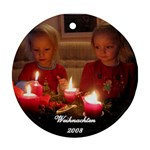 Christmas Ornament 2008 - Ornament (Round)