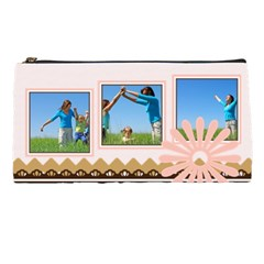 Pink Bag By Wood Johnson   Pencil Case   Bdohbqojamjw   Www Artscow Com Front