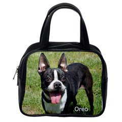Dutch And Oreo By Tina Collins   Classic Handbag (two Sides)   Rnu1pw0pp503   Www Artscow Com Back