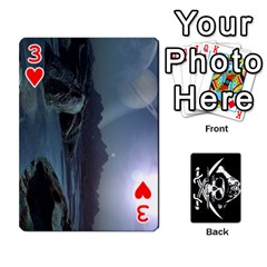 Card Deck By Adrian Wilkinson   Playing Cards 54 Designs   7xmj9avsn9id   Www Artscow Com Front - Heart3